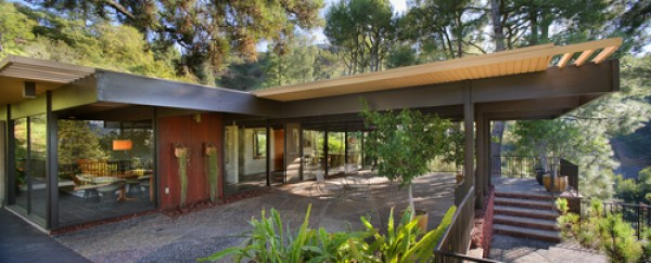 1957 Post Beam In The Hollywood Hills 3beds2baths